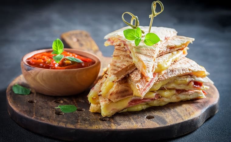 Gastronomie mexicaine - Quesadillas
