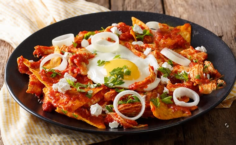 Plat mexicain - Chilaquiles