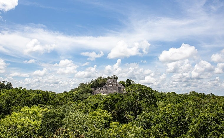 Que faire au Mexique - Calakmul