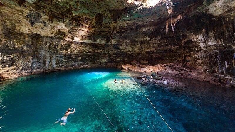 Les plus beaux cenotes du Yucatan - Xkeken - Samula