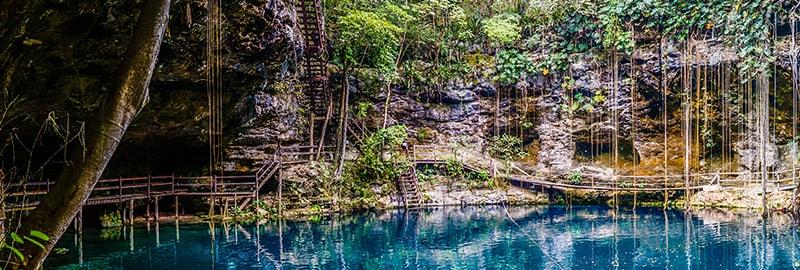 Plus beaux cenotes du Yucatan - Mexique