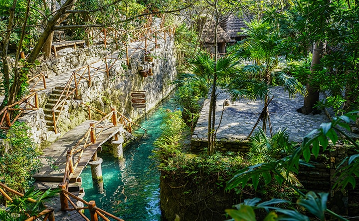 Parc de loisirs dans la Riviera Maya