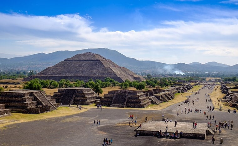 Que faire au Mexique - Teotihuacan