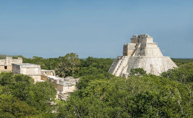 Uxmal - Voyage au Yucatán