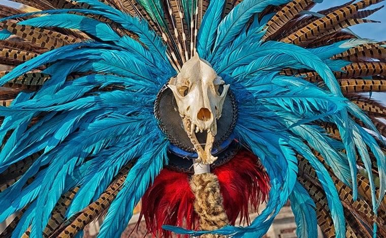 Fêtes mexicaines - El día de Nuestra Senora de Guadalupe