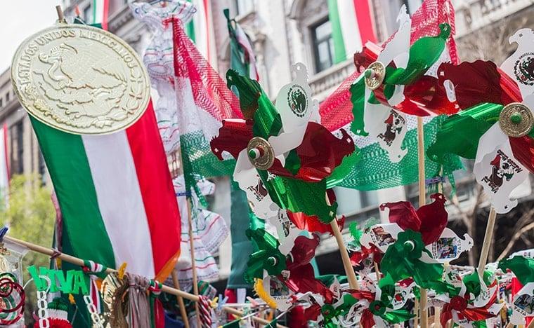 Fêtes mexicaines - Jour de l'indépendance du Mexique