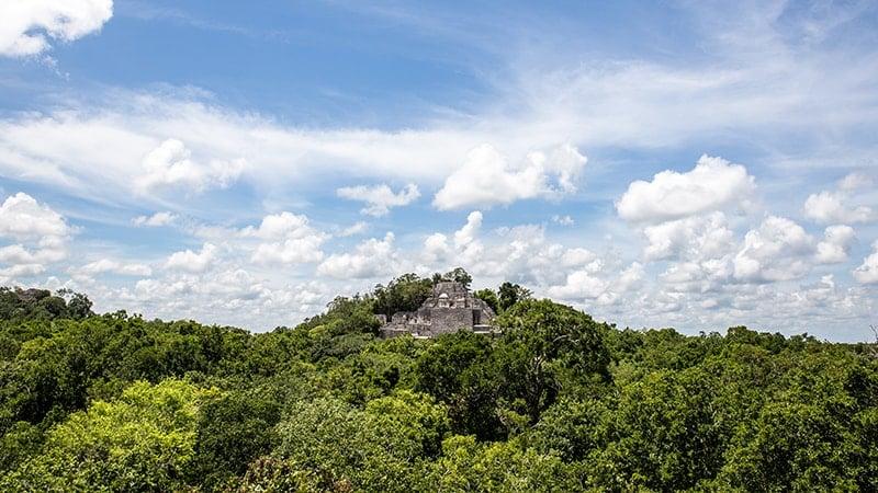 Mexique : patrimoine inscrit UNESCO - Calakmul
