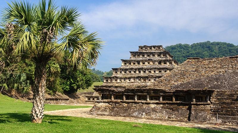 Mexique : patrimoine inscrit UNESCO - El Tajin
