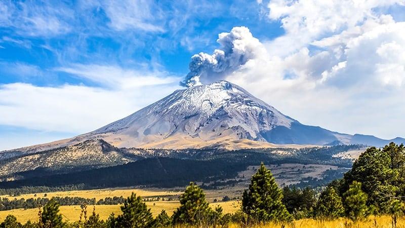 Mexique : patrimoine inscrit UNESCO - Popocatepetl