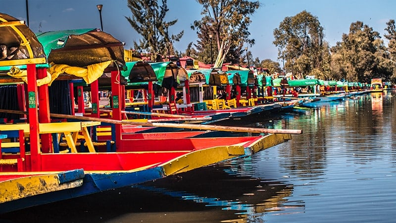 Mexique : patrimoine inscrit UNESCO - Xochimilco