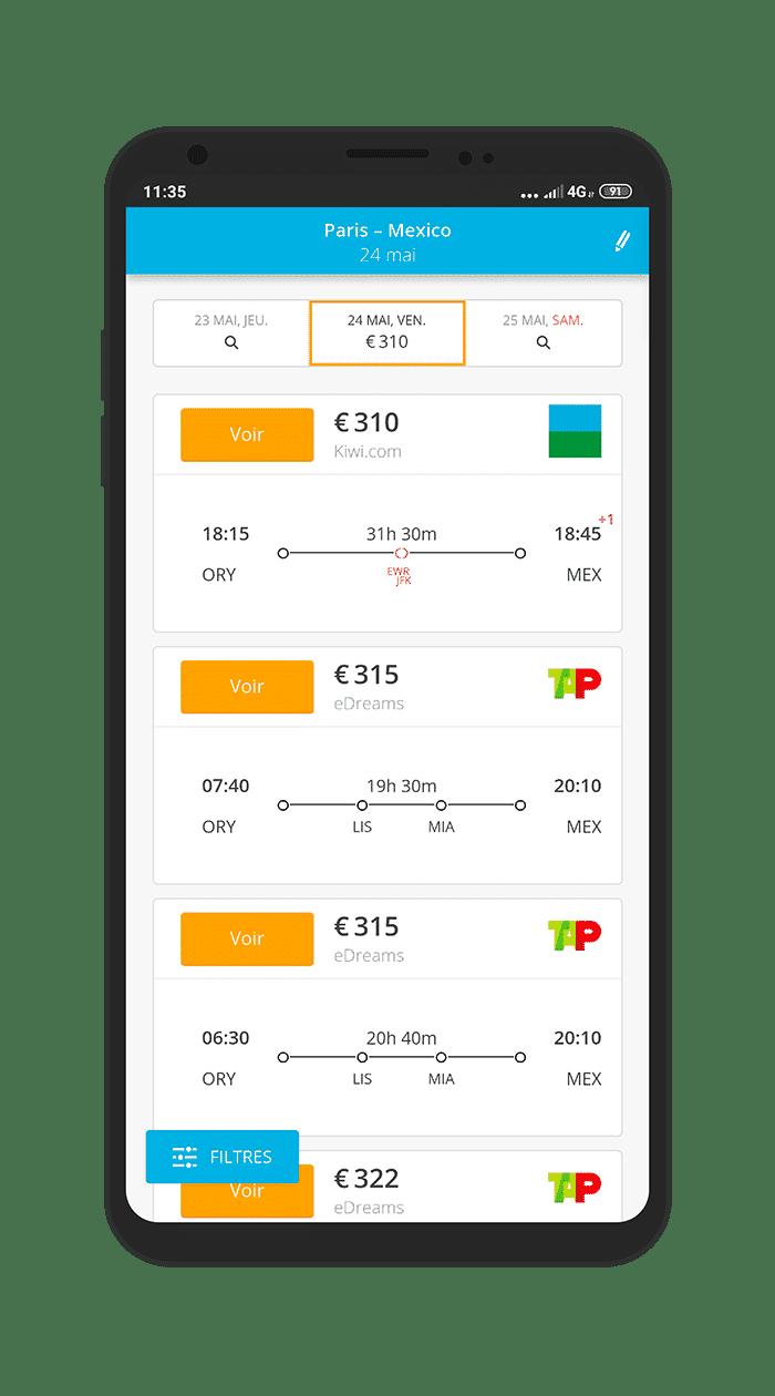 Comparateur de vol SmartVoyage.fr