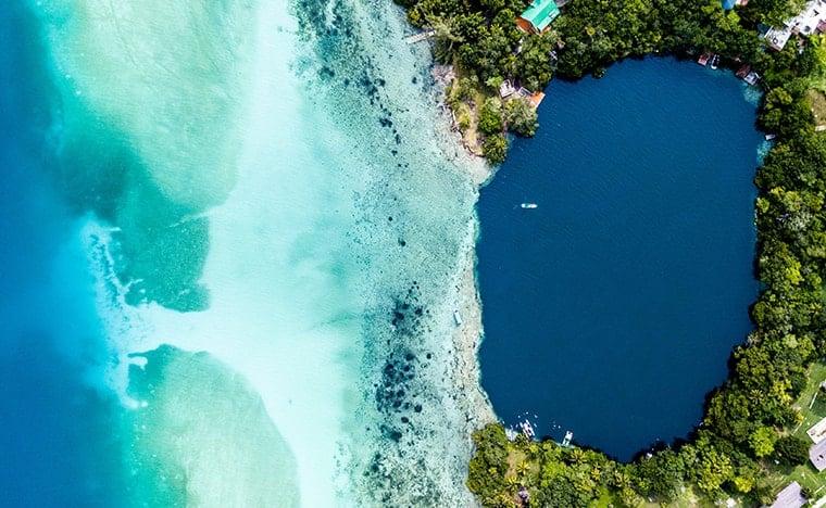 Découverte du cénote Negro - Lagune de Bacalar