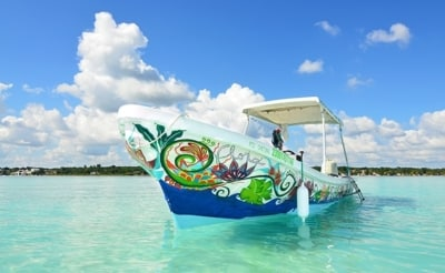 Excursion lagune de Bacalar
