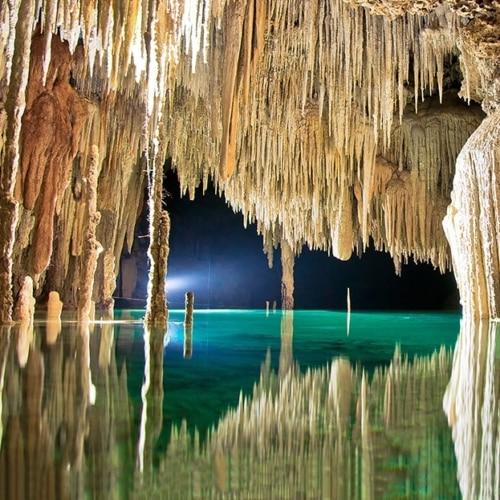 Rivière souterraine - Excursion à Playa del Carmen