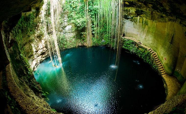 Visite des cénotes - Yucatan