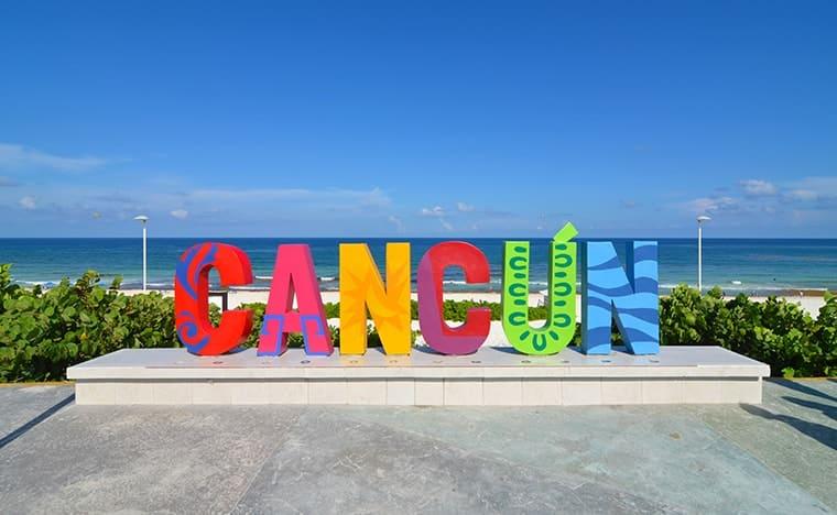 Incontournables à Cancun - Lettres Cancun