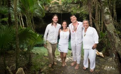 Thomas organisateur de mariage et cérémonies maya au Mexique