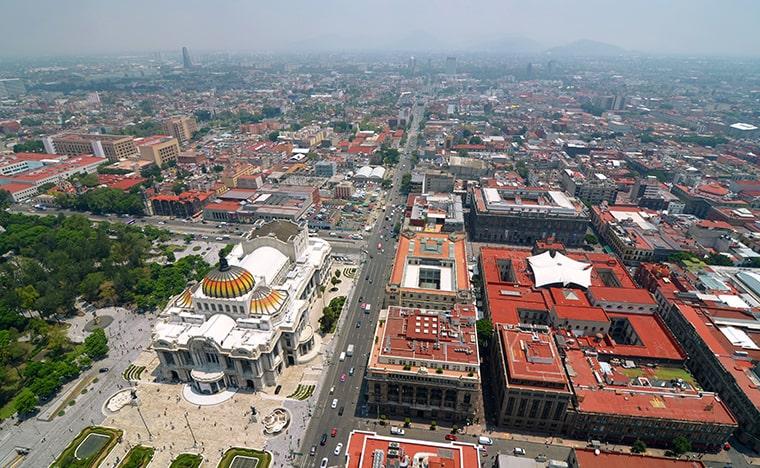Voyage à Mexico et ses environ