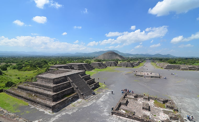 Les trésors de la cité préhispanique de Teotihuacan