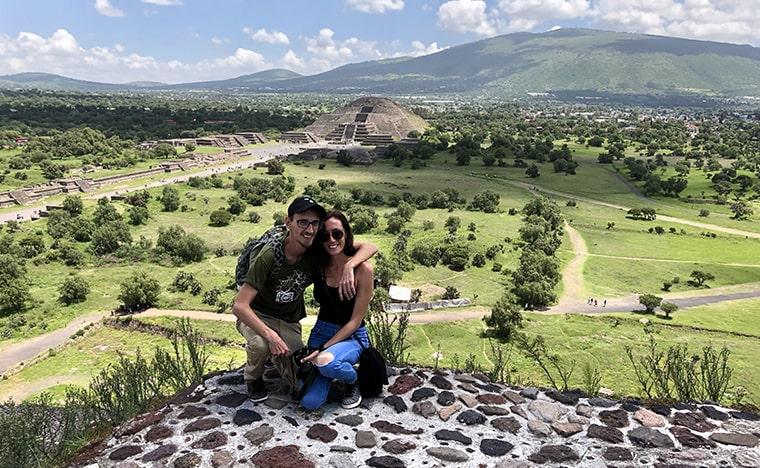 Visite du site archéologique de Teotihuacan