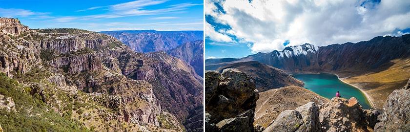 Où faire des randonnées au Mexique ?