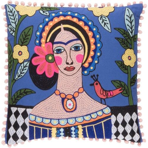 Coussin Frida Kahlo par Mukasa